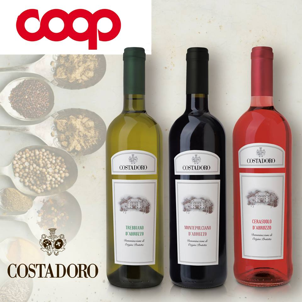 Costadoro wines_Coop supermarkets_1