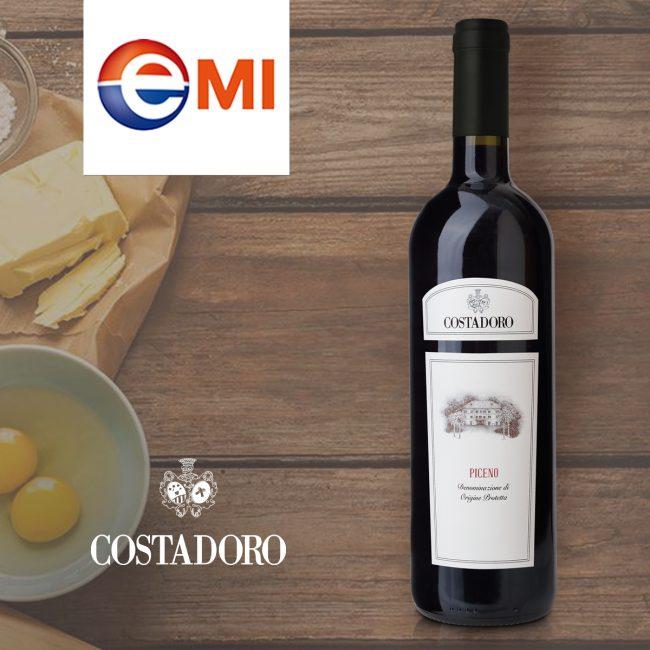 ROSSO PICENO DOP red wine Costadoro