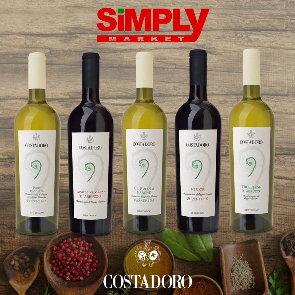 Simply costadoro wines biovegan
