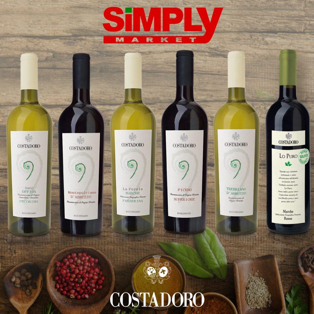 vini costadoro promozione simply